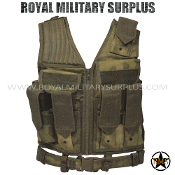 Tactical Vest - M71 Ranger - A-TACS FG (Foliage/Green)