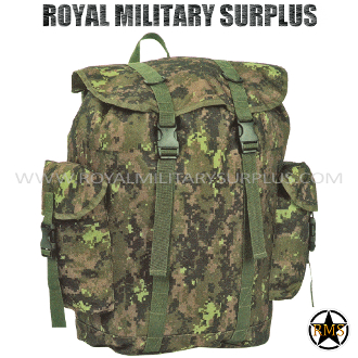 Backpack - Commando Rucksack - CADPAT (Temperate Woodland)