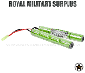 Valken - Battery Pack - NiMH - Split Style 9.6v 2200mAh
