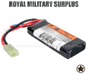Valken - Battery Pack - LiPO - Brick Mini 7.4v 1600mAh 30C