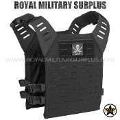Tactical Vest - Valken - MOLLE/Plate-Carrier Alpha LC - BLACK Valken