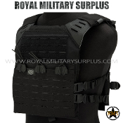Tactical Vest - Valken - MOLLE/Plate-Carrier LC - BLACK Valken
