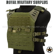 Tactical Vest - Valken - MOLLE/Plate-Carrier LC - OD GREEN Valken