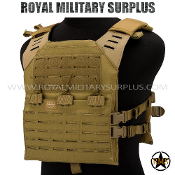 Tactical Vest - Valken - MOLLE/Plate-Carrier LC - TAN Valken
