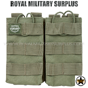 Pouch - Rifle Magazine/Double MOLLE Assault - OD GREEN