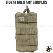 Pouch - Rifle Magazine/Single MOLLE Assault - OD GREEN