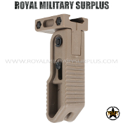 Foregrip - Valken - Tactical Folding Grip - TAN