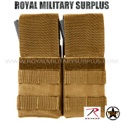 Pouch - M16/M4 Magazine/Dual MOLLE (Inserts) - COYOTE