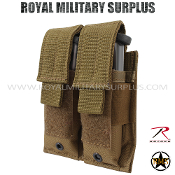 Pouch - Pistol Magazine/Dual MOLLE - COYOTE