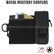 Pouch - Administrative/Single Holster MOLLE - BLACK