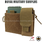 Pouch - Administrative/Single Holster MOLLE - COYOTE