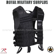 Tactical Vest - MOLLE Utility Vest (Lightweight) - BLACK
