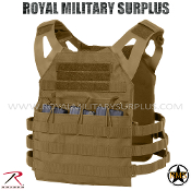 Tactical Vest - Plate-Carrier Skeleton (Lightweight) - COYOTE