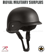 Helmet - PASGT GI Style ABS - BLACK (Black Tactical)