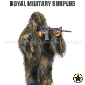 Ghillie Suit - 3-Pieces Suit/Lightweight - Swamp/Woodland
