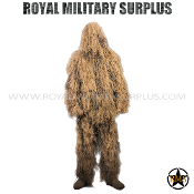 Ghillie Suit - 3-Pieces Suit/Lightweight - Desert