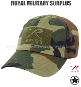 Tactical/Operator Cap - US WOODLAND (M81 Pattern)