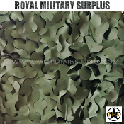 UK Camouflage Net - Small size (5'x10') - Woodland