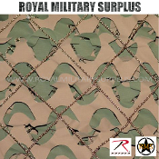 Military Type Camo Net - Large Size (9.1'x19.8') - GREEN/BROWN