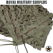 Military Roped Camo Net - Large Size (5'x20') - GREEN/BROWN