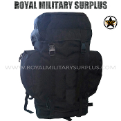 Backpack - 65 Liters - BLACK (Black Tactical)