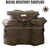 Bag - Canvas Expedition - Italian Army Issue (Used)