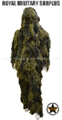 Ghillie Suit - 4-Pieces Suit/Lightweight - Swamp/Woodland