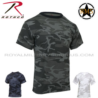 T-Shirts - Military Cut (Cotton/Polyester) - Urban Camouflages